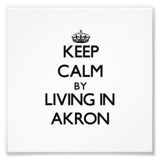 Guarde la calma viviendo en Akron