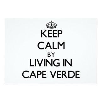 Guarde la calma viviendo en Cabo Verde Comunicados