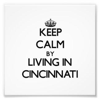 Guarde la calma viviendo en Cincinnati