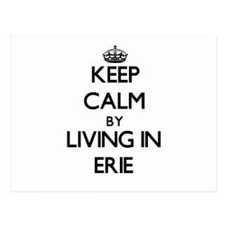 Guarde la calma viviendo en Erie Postal