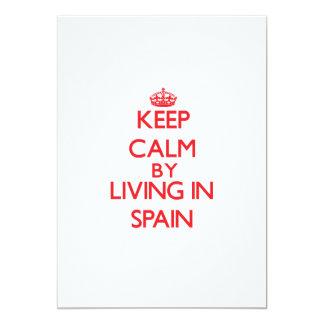 Guarde la calma viviendo en España Anuncio