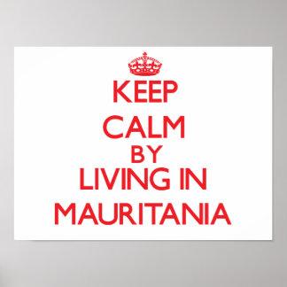 Guarde la calma viviendo en Mauritania Impresiones