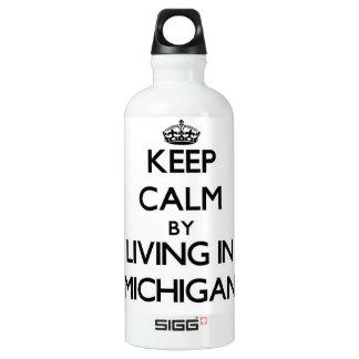 Guarde la calma viviendo en Michigan