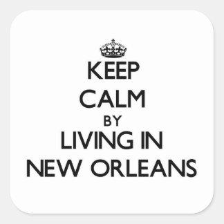 Guarde la calma viviendo en New Orleans
