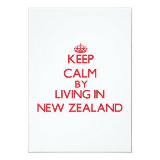 Guarde la calma viviendo en Nueva Zelanda