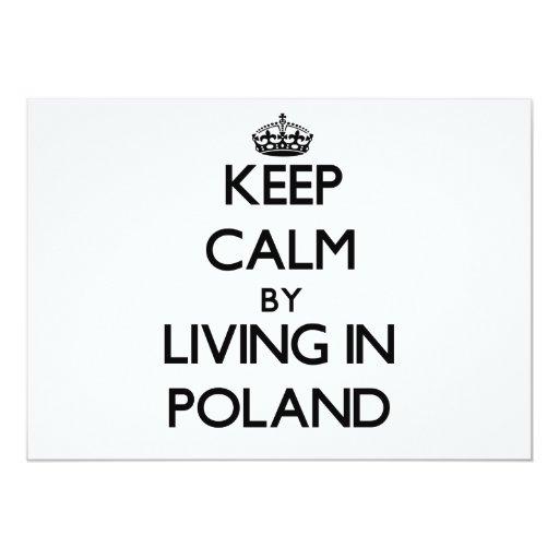 Guarde la calma viviendo en Polonia Anuncio