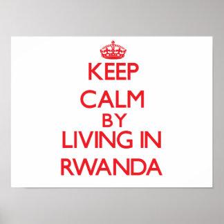 Guarde la calma viviendo en Rwanda