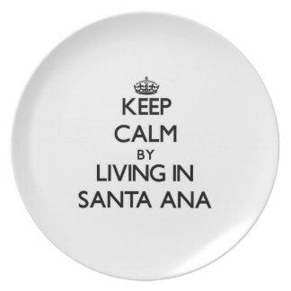 Guarde la calma viviendo en Santa Ana Plato
