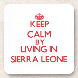 Guarde la calma viviendo en Sierra Leone Posavasos