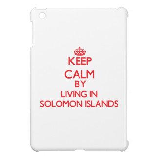 Guarde la calma viviendo en Solomon Island