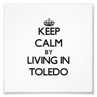 Guarde la calma viviendo en Toledo
