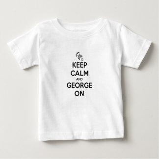 Guarde la calma y a George encendido Camisas