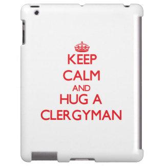 Guarde la calma y abrace a un clérigo