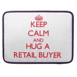 Guarde la calma y abrace a un comprador al por men funda macbook pro