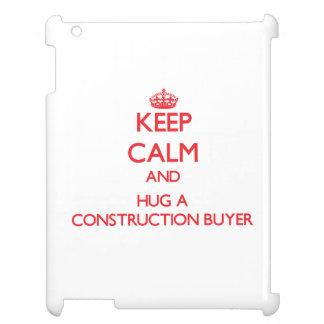 Guarde la calma y abrace a un comprador de la cons