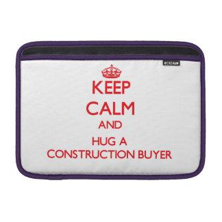 Guarde la calma y abrace a un comprador de la cons funda  MacBook