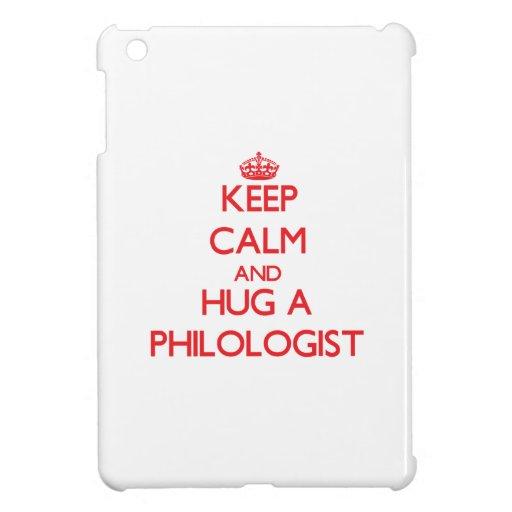Guarde la calma y abrace a un filólogo
