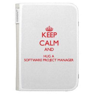 Guarde la calma y abrace a un gestor de proyecto d