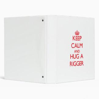 Guarde la calma y abrace a un instalador