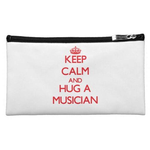 Guarde la calma y abrace a un músico