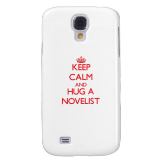 Guarde la calma y abrace a un novelista