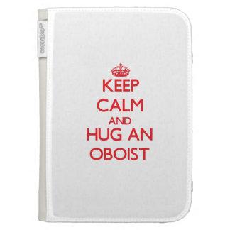 Guarde la calma y abrace a un oboe