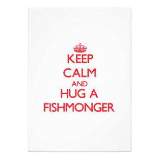 Guarde la calma y abrace a un pescadero comunicados personales