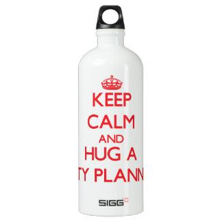 Guarde la calma y abrace a un planificador de la
