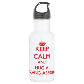 Guarde la calma y abrace a un profesor ayudante