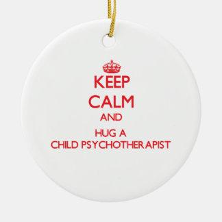 Guarde la calma y abrace a un psicoterapeuta del ornato