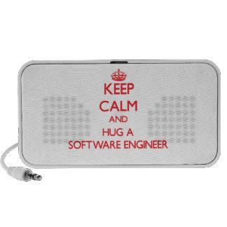 Guarde la calma y abrace a una Software Engineer Sistema Altavoz