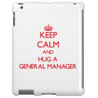 Guarde la calma y abrace director general