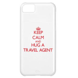 Guarde la calma y abrace un agente de viajes
