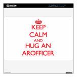 Guarde la calma y abrace un Arofficer Skins Para 27,9cm MacBook Air