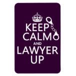 Guarde la calma y al abogado para arriba (cualquie iman