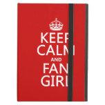 Guarde la calma y al chica de la fan (en todos los
