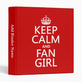 """Guarde la calma y al chica de la fan (en todos los carpeta 1"""""""