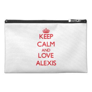 Guarde la calma y ame a Alexis
