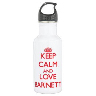 Guarde la calma y ame a Barnett