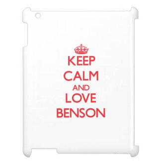 Guarde la calma y ame a Benson