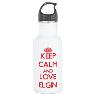 Guarde la calma y ame a Elgin