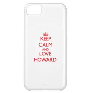 Guarde la calma y ame a Howard