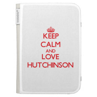 Guarde la calma y ame a Hutchinson