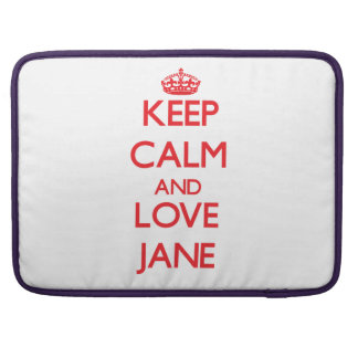 Guarde la calma y ame a Jane Funda Macbook Pro