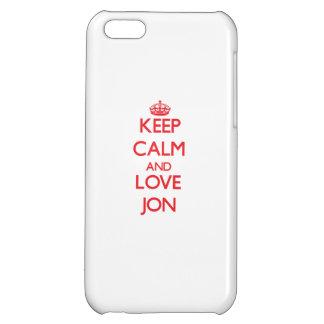 Guarde la calma y ame a Jon
