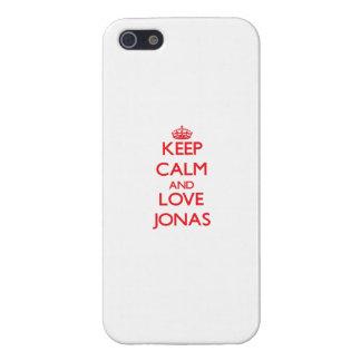 Guarde la calma y ame a Jonas iPhone 5 Cobertura