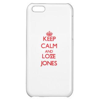 Guarde la calma y ame a Jones