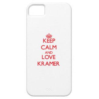 Guarde la calma y ame a Kramer iPhone 5 Coberturas
