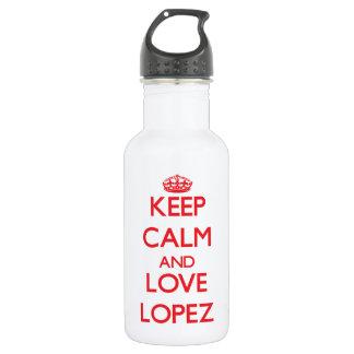 Guarde la calma y ame a López