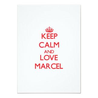 Guarde la calma y ame a Marcelo Anuncio